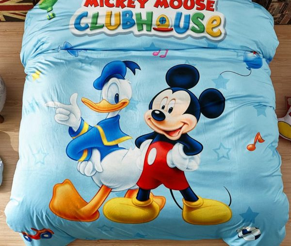 Disney Mickey Mouse Club House Childrens Bedding Set 3 600x506 - Disney Mickey Mouse Club House Childrens Bedding Set