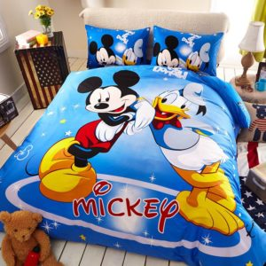Disney Mickey Mouse Donald Duck Bedding Set 1 300x300 - Disney Mickey Mouse & Donald Duck Bedding Set