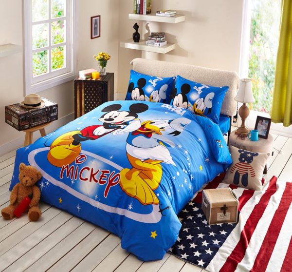 Disney Mickey Mouse Donald Duck Bedding Set 7