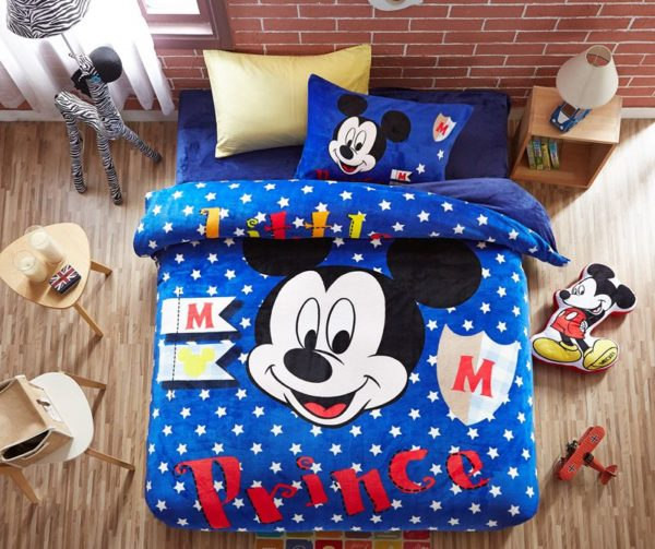 Disney Mickey Mouse little Boys comforter sets 1 600x503 - Disney Mickey Mouse little Boys comforter sets