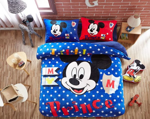 Disney Mickey Mouse little Boys comforter sets 8 600x476 - Disney Mickey Mouse little Boys comforter sets