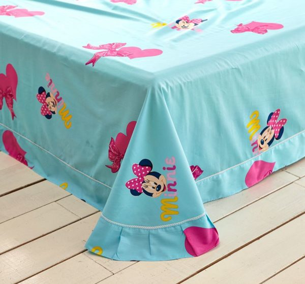 Disney Minnie Mouse Pink Bedding Set For Teen Girls Bedroom 2