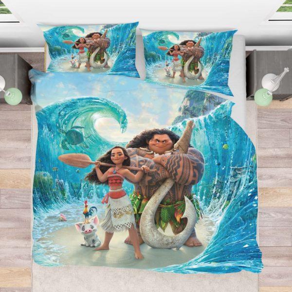 Disney Moana Movie Theme Bedding Set