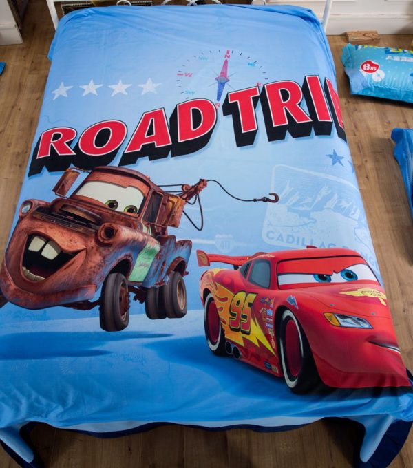 Disney Pixar Cars Movie Lightning McQueen Mater Bedding Set 4 600x680 - Disney Pixar Cars Movie Lightning McQueen & Mater Bedding Set