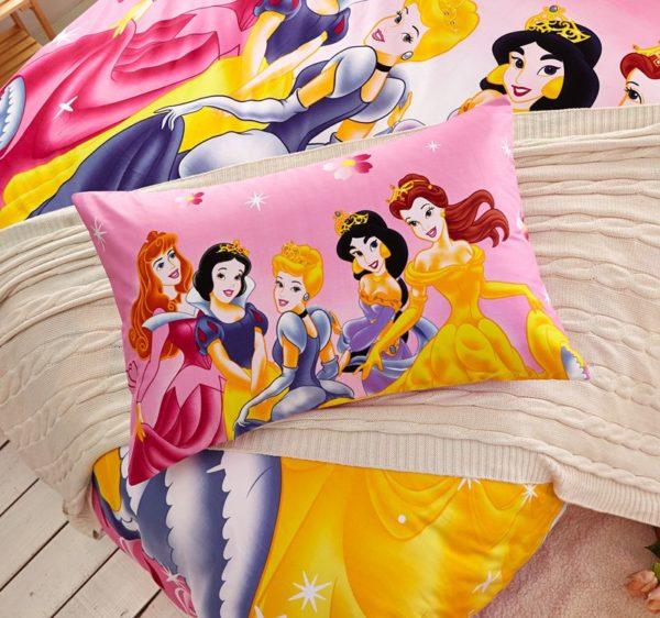Disney Princess Bedding Set Twin Queen Size 4