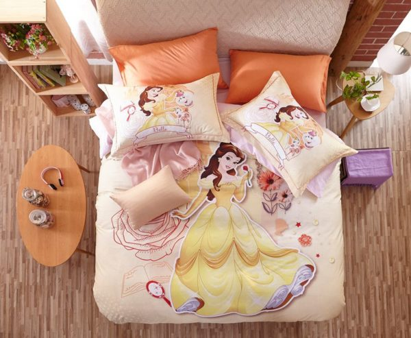 Disney Princess Belle Bedding Set for Kids Girls & Teens