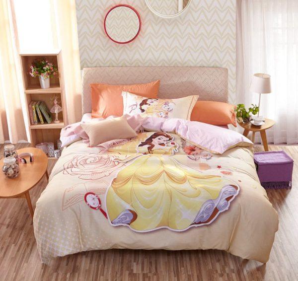 Disney Princess Belle Bedding Set for Kids Girls Teens 9