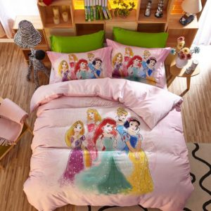 Disney Princess Friendship Adventures Birthday Gift Bedding Set