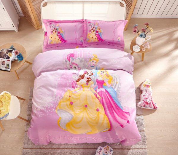 Disney Princess Polyester Bedding Set 10