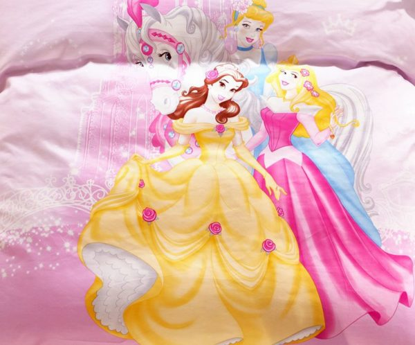 Disney Princess Polyester Bedding Set 2