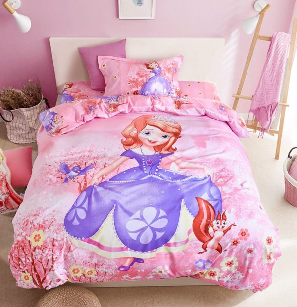 Disney Princess bedspreads set for teenage gir 2 600x621 - Disney Princess Bedspreads Set for Teenage Girls Bedroom