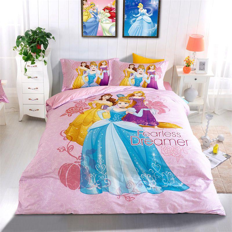 Disney Princess Girls Room Bedding Set