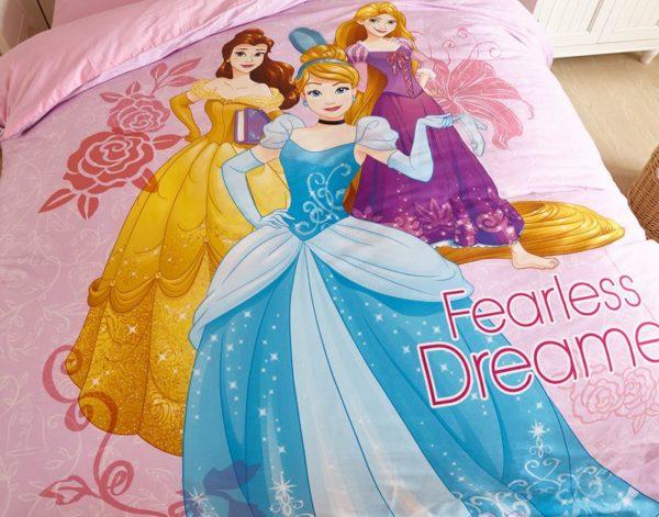 Disney Princess girls room bedding Set 5 600x471 - Disney Princess Girls Room Bedding Set