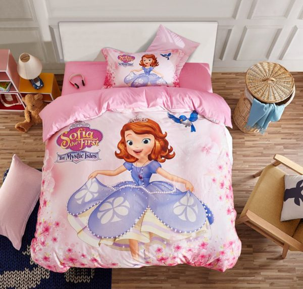 Disney Sofia the First Bedding Set Twin Queen Size 1