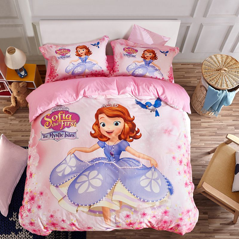 Disney Sofia The First Bedding Set Twin Queen Size