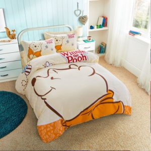 Disney Winnie The Pooh Birthday Gift Bedding Set