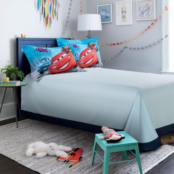 Disney cars and trucks bedding set Twin Queen Size 2 600x600 - Disney Cars and Trucks Bedding Set Twin Queen Size