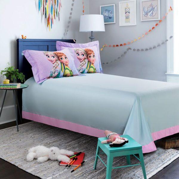 Disney elsa and anna birthday gift For Girls Bedding Set 10