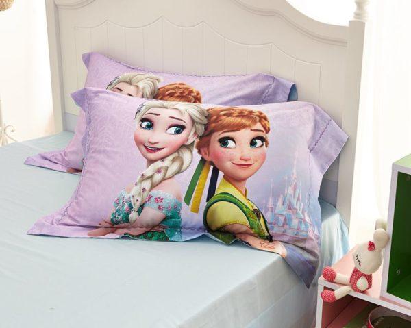 Disney elsa and anna birthday gift For Girls Bedding Set 7