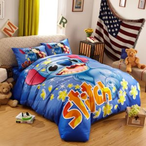 Disney's Lilo & Stitch Fictional Character Bedding Set