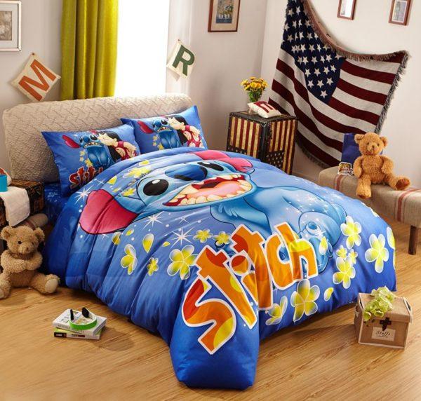 Disney's Lilo & Stitch Fictional Character Bedding Set