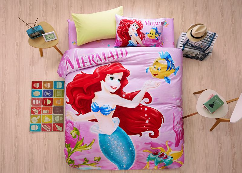Disney S Little Mermaid Princess Bedding Set Twin Queen