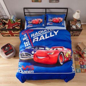 Doc Vs McQueen Game Disney Cars Kids Bedding 1