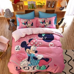 Dotty Minnie Mouse Bedding Set