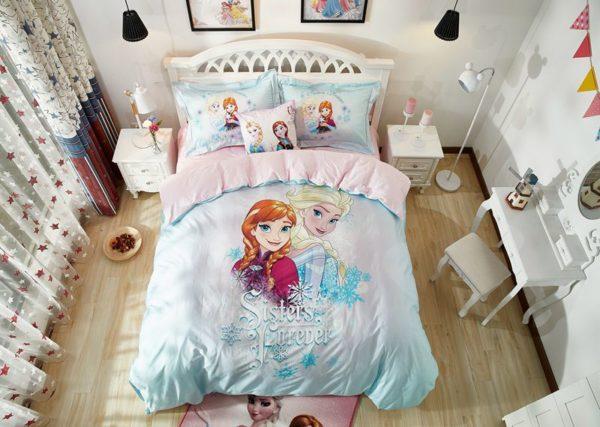 Elsa & Anna Sisters Forever Frozen Bedding Set