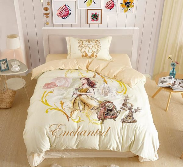 Enchanted Princess Giselle Bedding Set 1 600x548 - Enchanted Princess Giselle Bedding Set