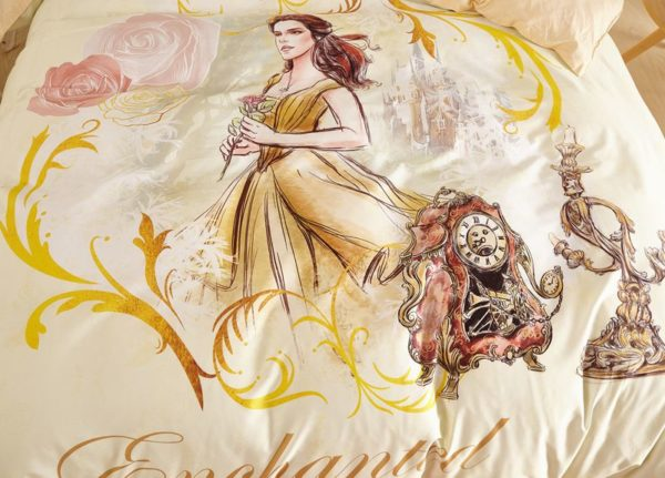 Enchanted Princess Giselle Bedding Set 4 600x431 - Enchanted Princess Giselle Bedding Set