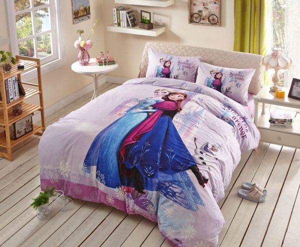 Fabulous frozen princess bedding set 1 600x494 - Fabulous Frozen Princess Bedding Set