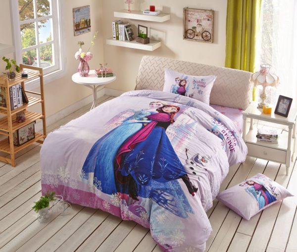 Fabulous frozen princess bedding set 4