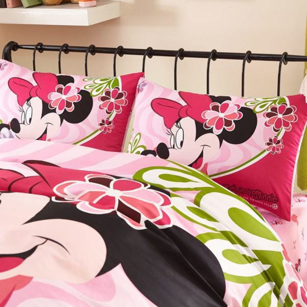 Fantastic Minnie Mouse Bedding Set Twin Queen size 6