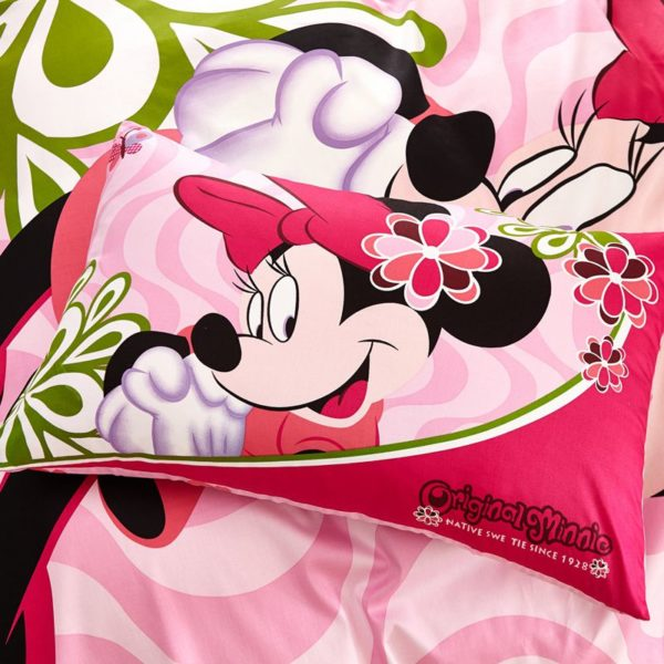Fantastic Minnie Mouse Bedding Set Twin Queen size 8