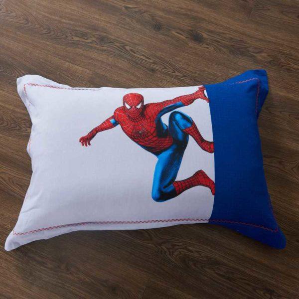 Fashionable Blue Color Spider Man Bedding Set 10