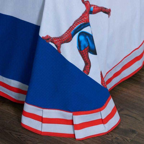 Fashionable Blue Color Spider Man Bedding Set 12