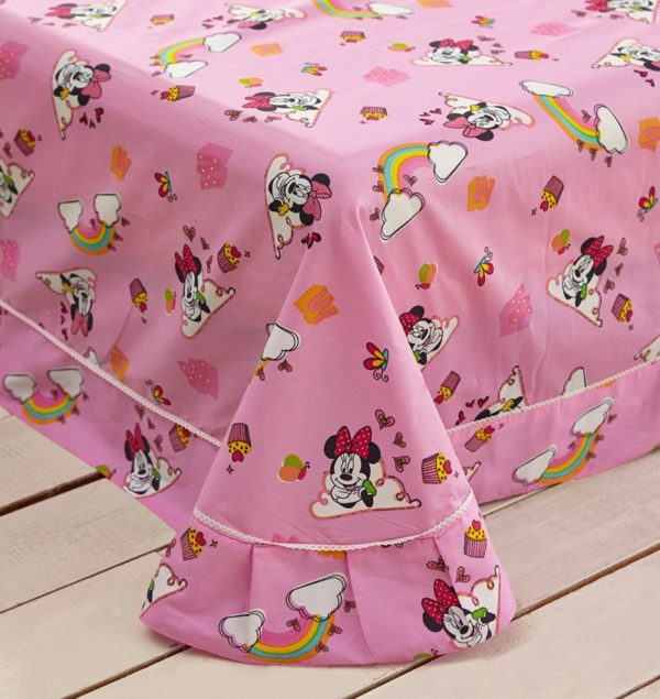 Girls Minnie Mouse Bedding Set Twin Queen Size 7 600x635 - Girls Minnie Mouse Bedding Set Twin Queen Size