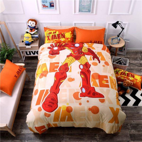 Iron Man 3 Movie Themed Bedding Set