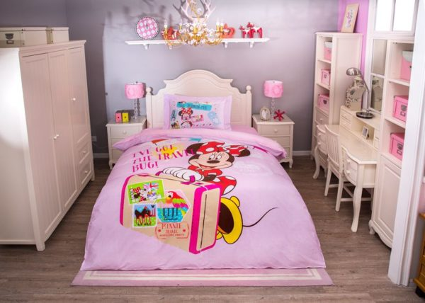 Ive Got the Travel Mug Minnie Mouse Pink Bedding Set 1