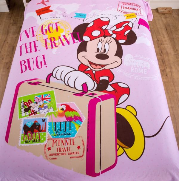 Ive Got the Travel Mug Minnie Mouse Pink Bedding Set 3