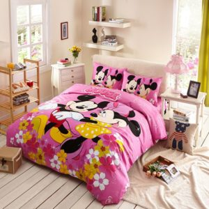 Kids Mickey Minnie Mouse Pink Bedding Set 1 300x300 - Kids Mickey & Minnie Mouse Pink Bedding Set