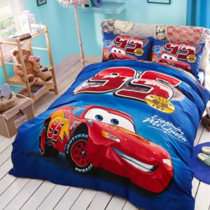 Kids Racing Car Movie Bedding Set
