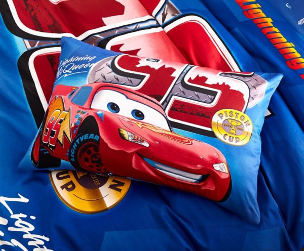 Kids Racing Car Movie Bedding Set 6 600x496 - Kids Racing Car Movie Bedding Set