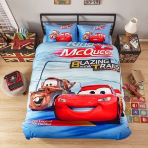 King Vs McQueen Game Disney Cars Kids Bedding 1 300x300 - King Vs McQueen Game Disney Cars Kids Bedding
