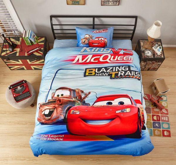 King Vs McQueen Game Disney Cars Kids Bedding 2