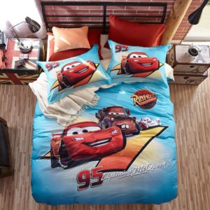 Lightning McQueen Cars Bedding Set