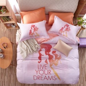 Live Your Dreams Disney Princess Bedding Set