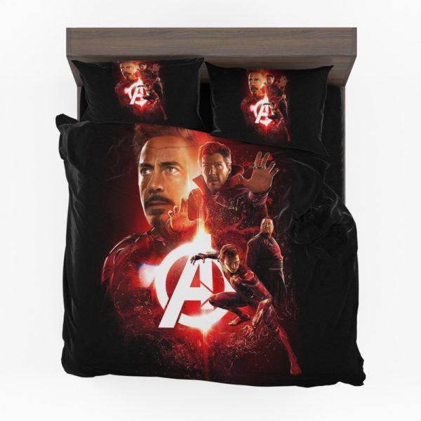 Marvel Iron Man Doctor Strange Spider Man Avenger Infinity War Bedding Set