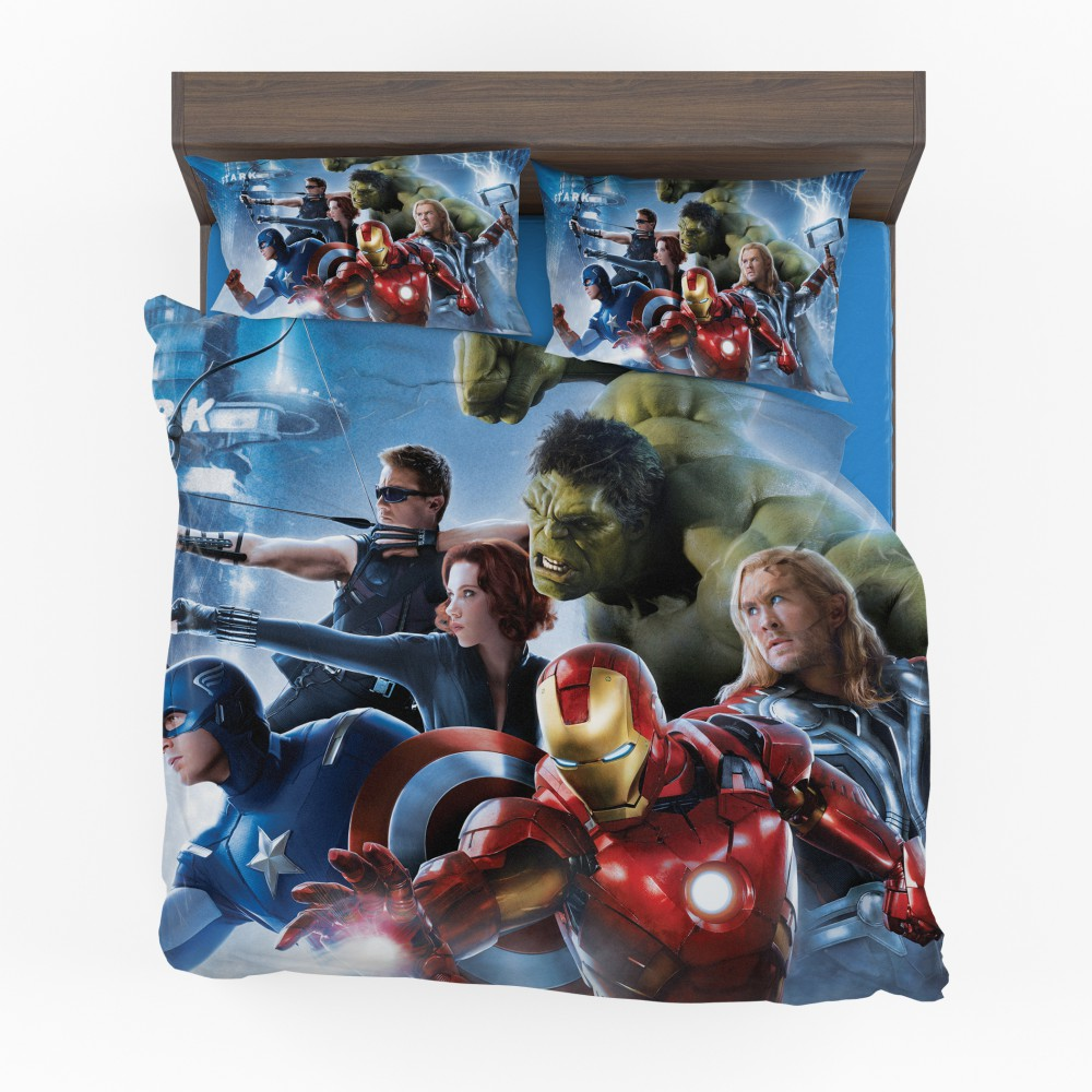 Marvel Avengers 2 Movie Super Heroes Bed In Bag Ebeddingsets
